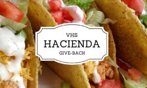 Hacienda Give-Back Tuesday, March 19th