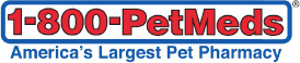 1800PetMeds Logo Return to Home Page